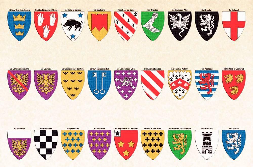 увидите картинки рыцарскими гербами нашем сайте